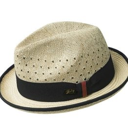 Bailey Hat Co. HAT-FEDORA-BASCOM, STRAW NATURAL