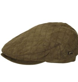Bailey Hat Co. HAT-FLAT CAP-DEREN, WATER RESISTANT W/EAR FLAP