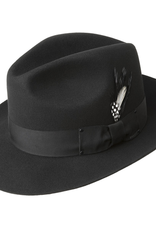 Bailey Hat Co. HAT-FEDORA-GANGSTER, WIDE BRIM, BLACK, SMALL