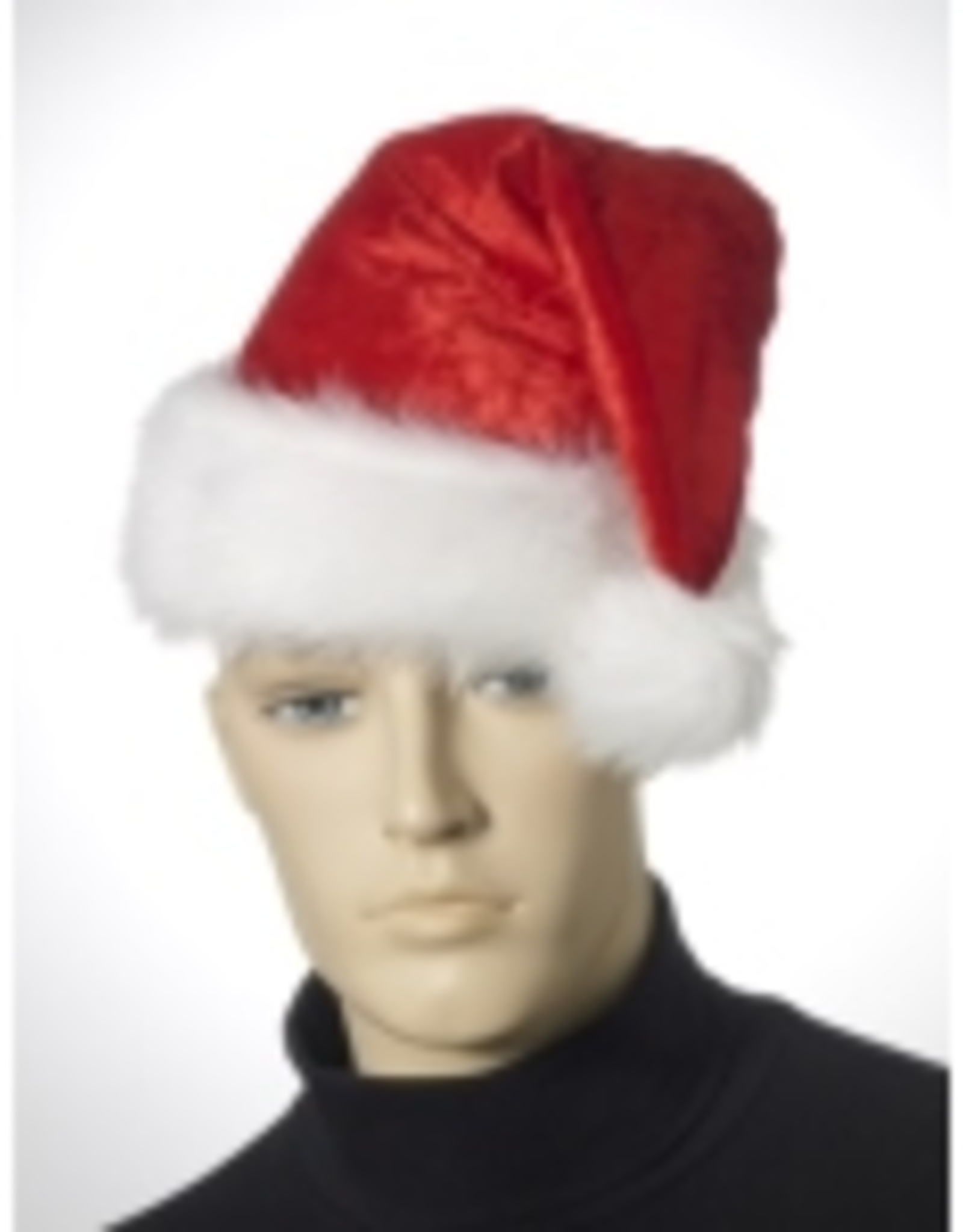HAT-SANTA-VELOUR, RED