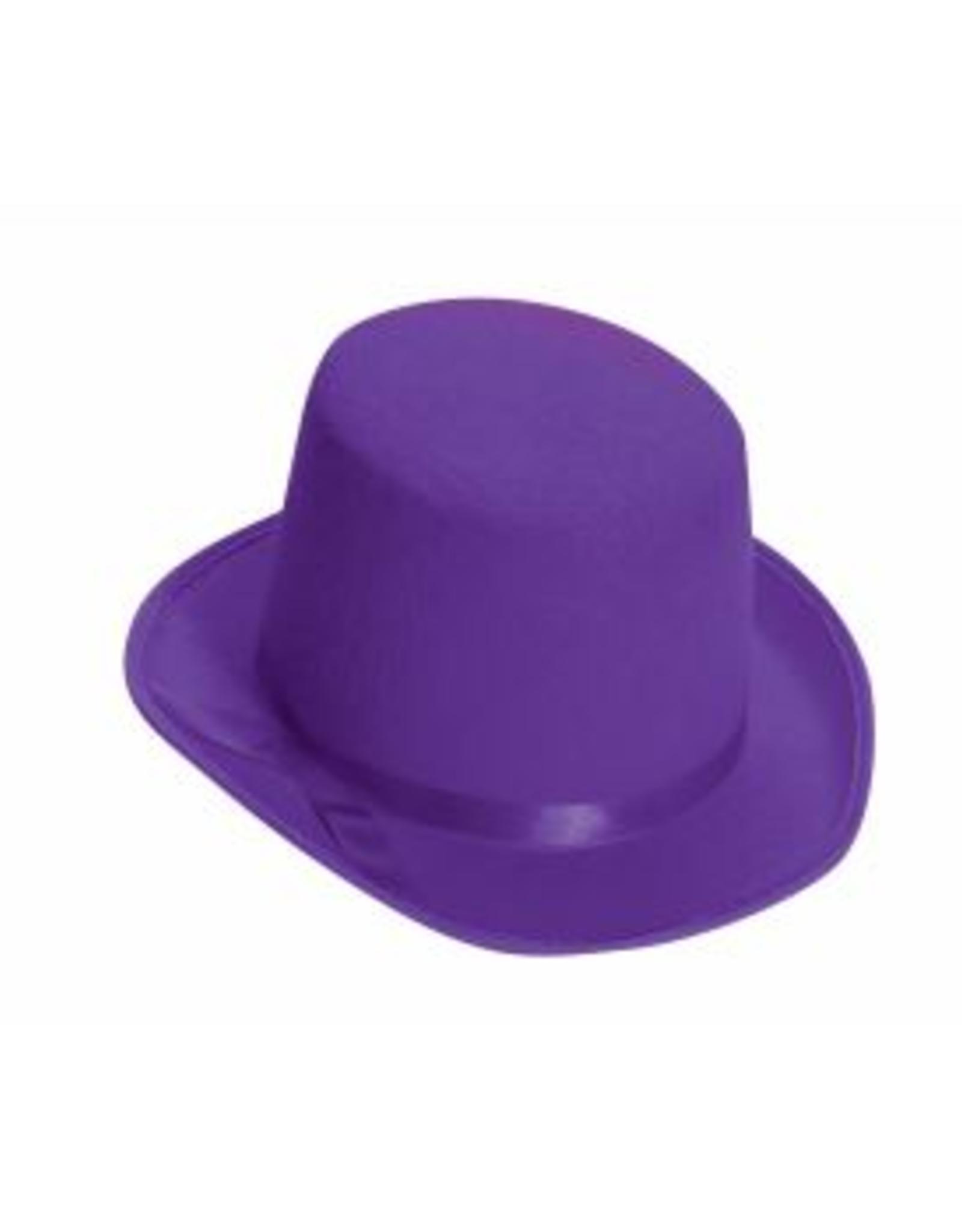HAT-TOP HAT, DELUXE, PURPLE