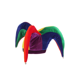 HAT-COURT JESTER, MULTI-COLOR
