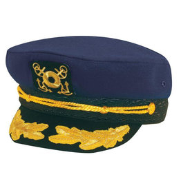 HAT-UNIFORM, YACHT CAP, NAVY, O/S