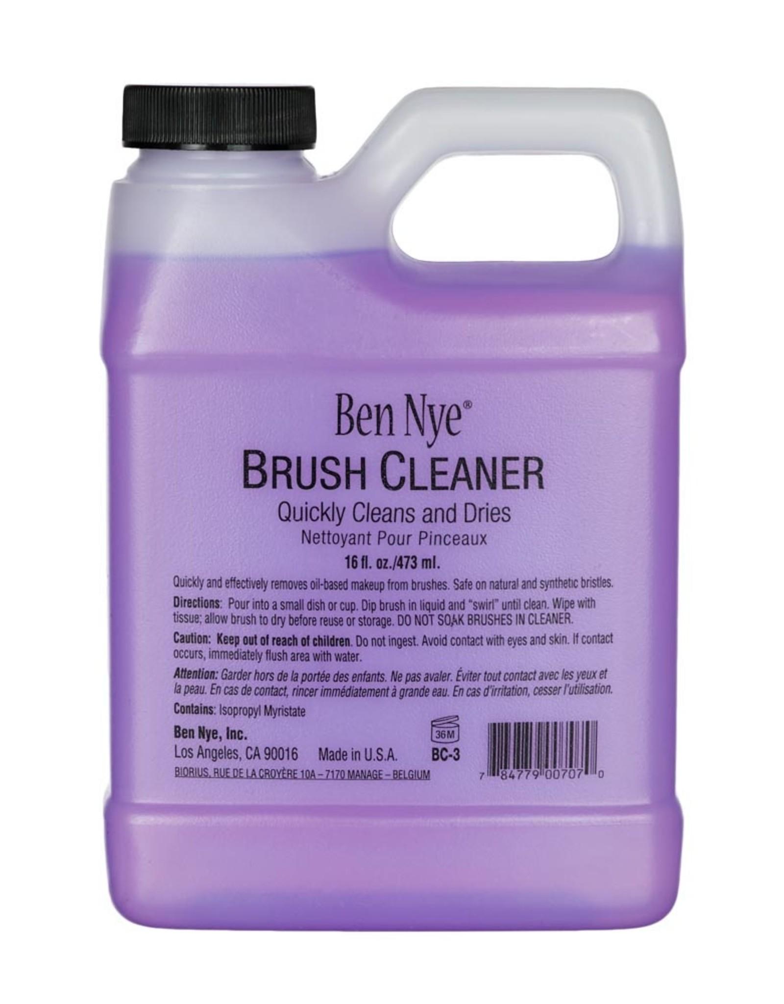 Ben Nye BRUSH CLEANER, 16 FL OZ