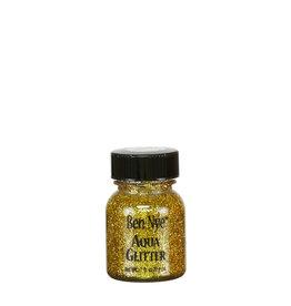 Ben Nye AQUA GLITTER, GOLD, 1 FL OZ