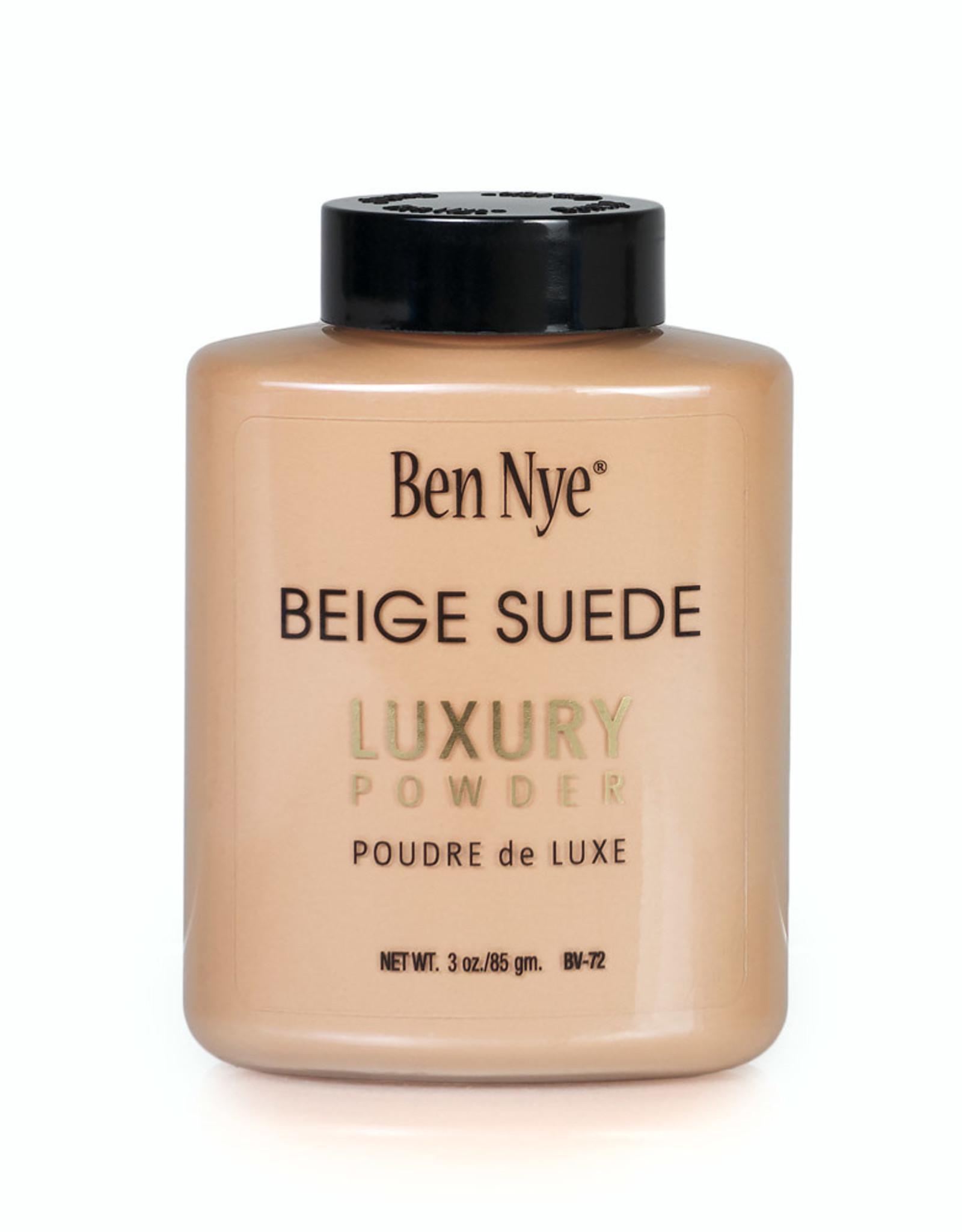 Ben Nye LUXURY POWDER, BEIGE SUEDE, SHAKER 3 OZ