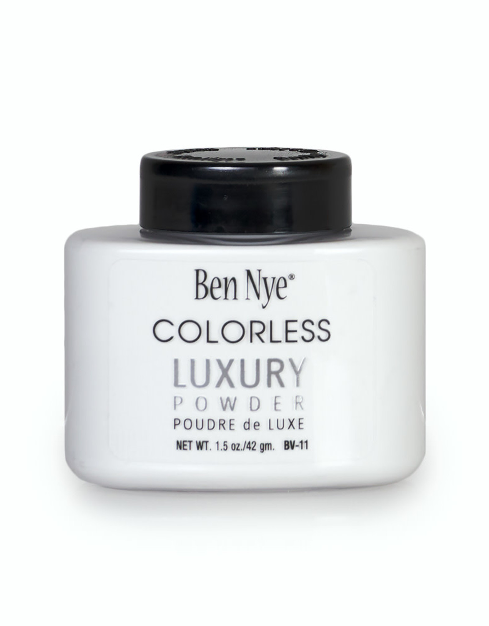 Ben Nye LUXURY POWDER, COLORLESS, SHAKER 1.5 OZ