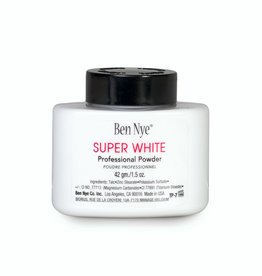 Ben Nye CLOWN-SUPER WHITE,  FACE POWDER 1.75OZ