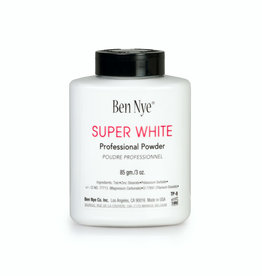Ben Nye CLOWN-SUPER WHITE, FACE POWDER, 3 OZ