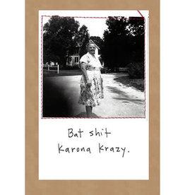 CARD-HUMOR, KARONA CRAZY