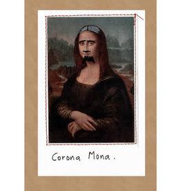 CARD-HUMOR, CORONA MONA