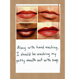 Faire/Visual Treats CARD-HUMOR, POTTY MOUTH