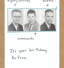 CARD-BDAY, BE FREE