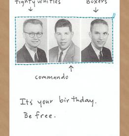 Faire/Visual Treats CARD-BIRTHDAY-BE FREE