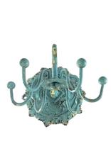 JEWELRY HOLDER-BAROQUE JEWELRY TURNSTILE, ANTIQUE BLUE