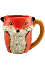 MUG-CERAMIC-SLY FOX