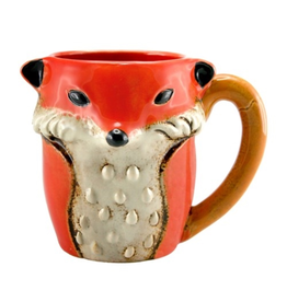 MUG-CERAMIC-SLY FOX