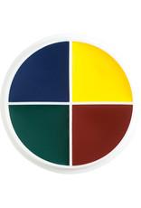 Ben Nye FX-CREME  WHEEL, CUTS & BRUISES, 4-COLOR, 1 OZ
