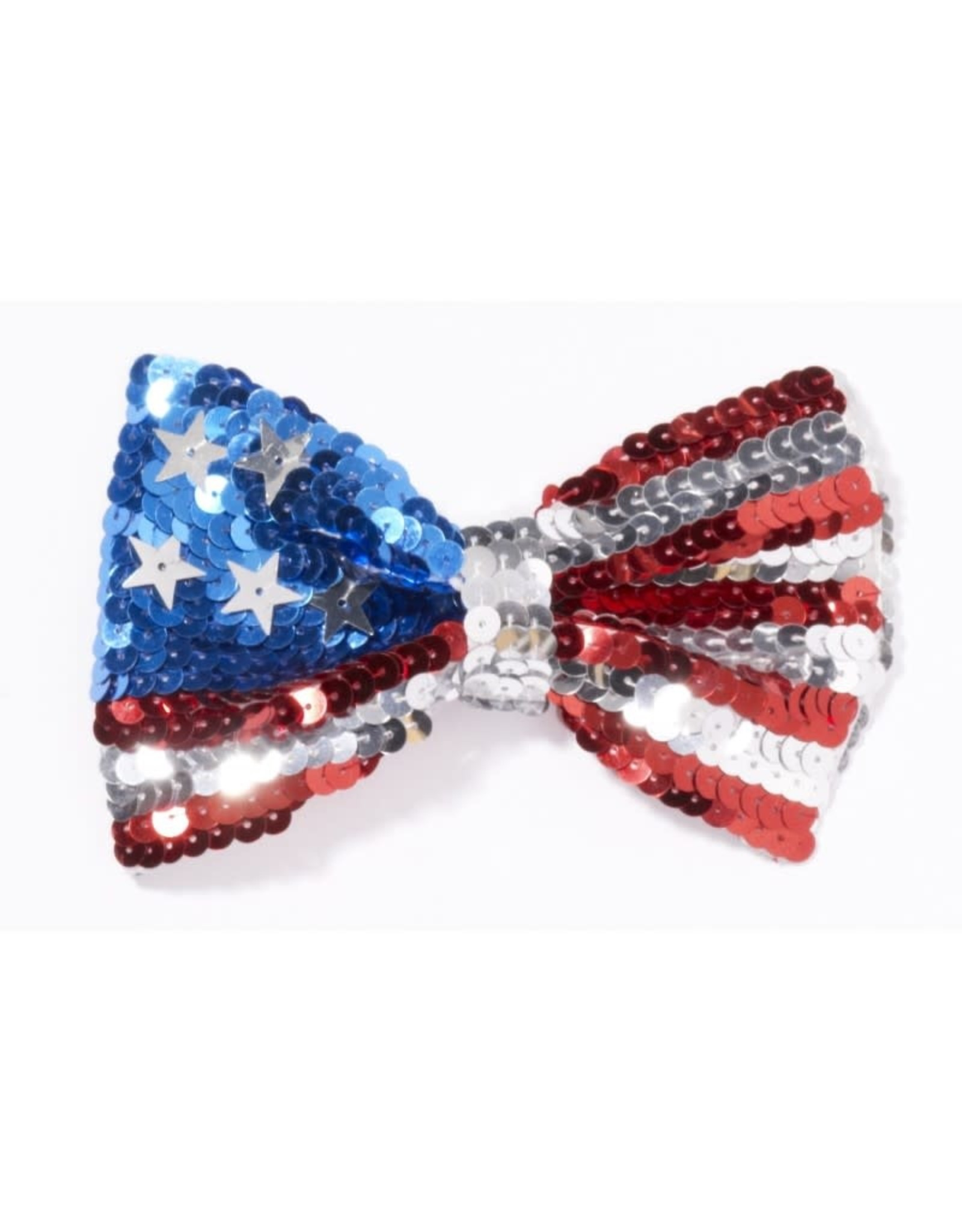 BOW TIE-U.S. FLAG SEQUIN