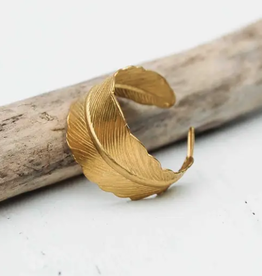 RING-GOLD FEATHER