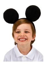 ANIMAL HEADBAND-EARS, MICKEY, BLACK