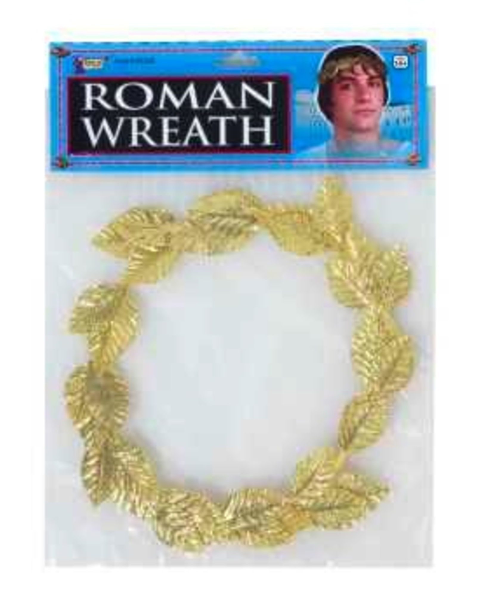 CROWN-ROMAN WREATH, GOLD FOIL
