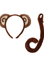 ANIMAL SET-MONKEY EARS W TAIL
