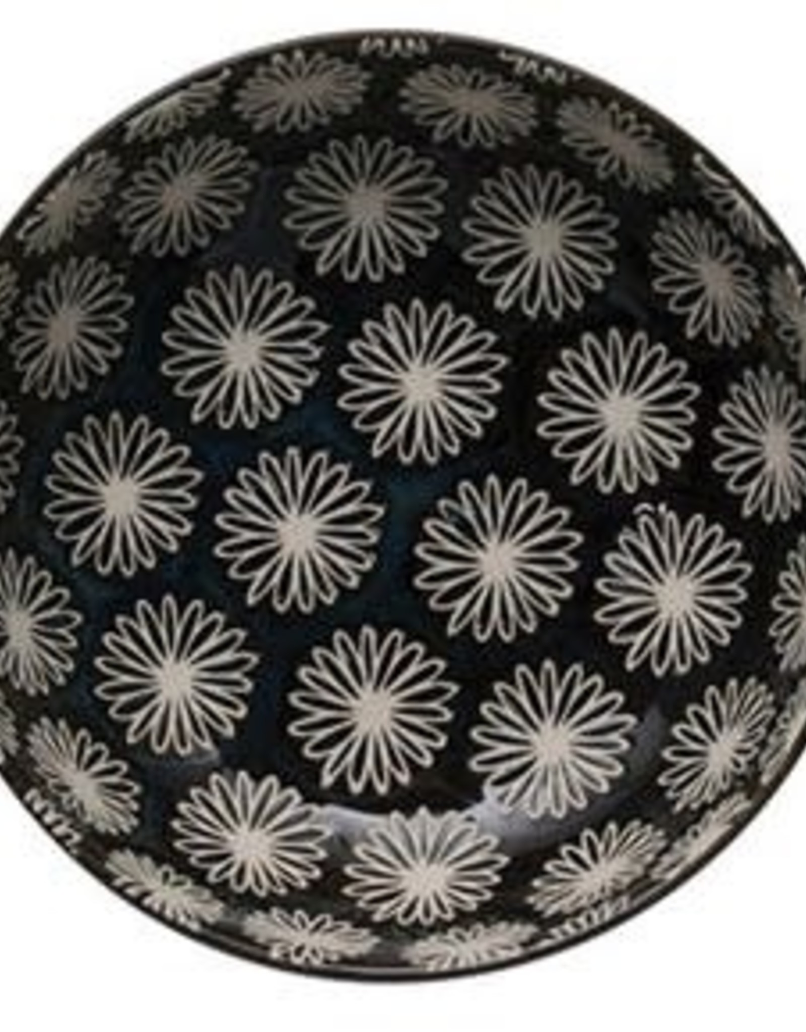 "BOWL-STONEWARE-ROUND-MIDNIGHT BLUE, 5"" ROUND X 1-1/2""H"
