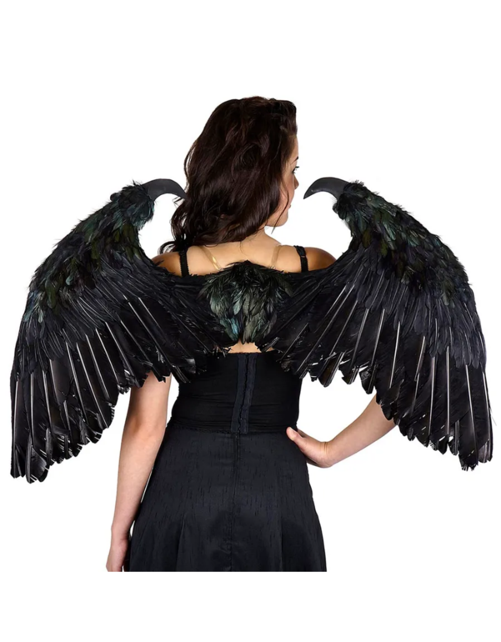 WINGS-FEATHER-MALEFICIENT, BLACK