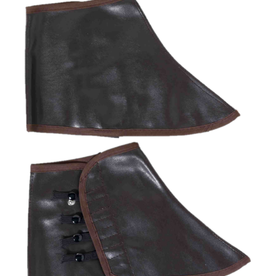 SPATS STEAMPUNK, LOW, BROWN