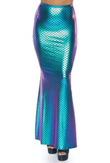 SKIRT-IRIDESCENT SCALE MERMAID, SMALL