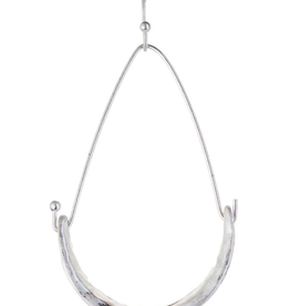 Rain Jewelry Collection EARRINGS-SILVER STIRRUP