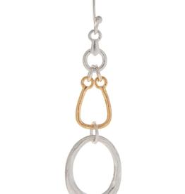 Rain Jewelry Collection EARRINGS-TRIPLE OPEN LOOPS