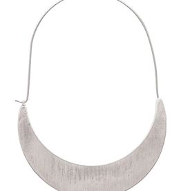 Rain Jewelry Collection EARRINGS-SILVER CRESCENT HOOP