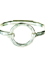 Rain Jewelry Collection BRACELET-SILVER CIRCLE HOOK