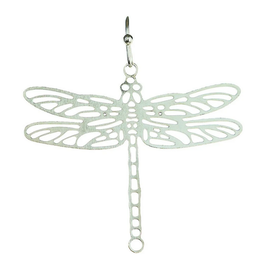 Rain Jewelry Collection EARRINGS-SILVER LASER CUT DRAGONFLY