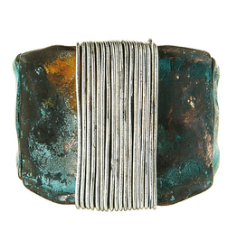 Rain Jewelry Collection RING-PATINA SILVER WRAPPED