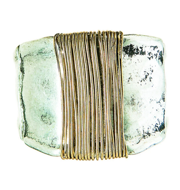 Rain Jewelry Collection RING-TWO TONE WRAPPED