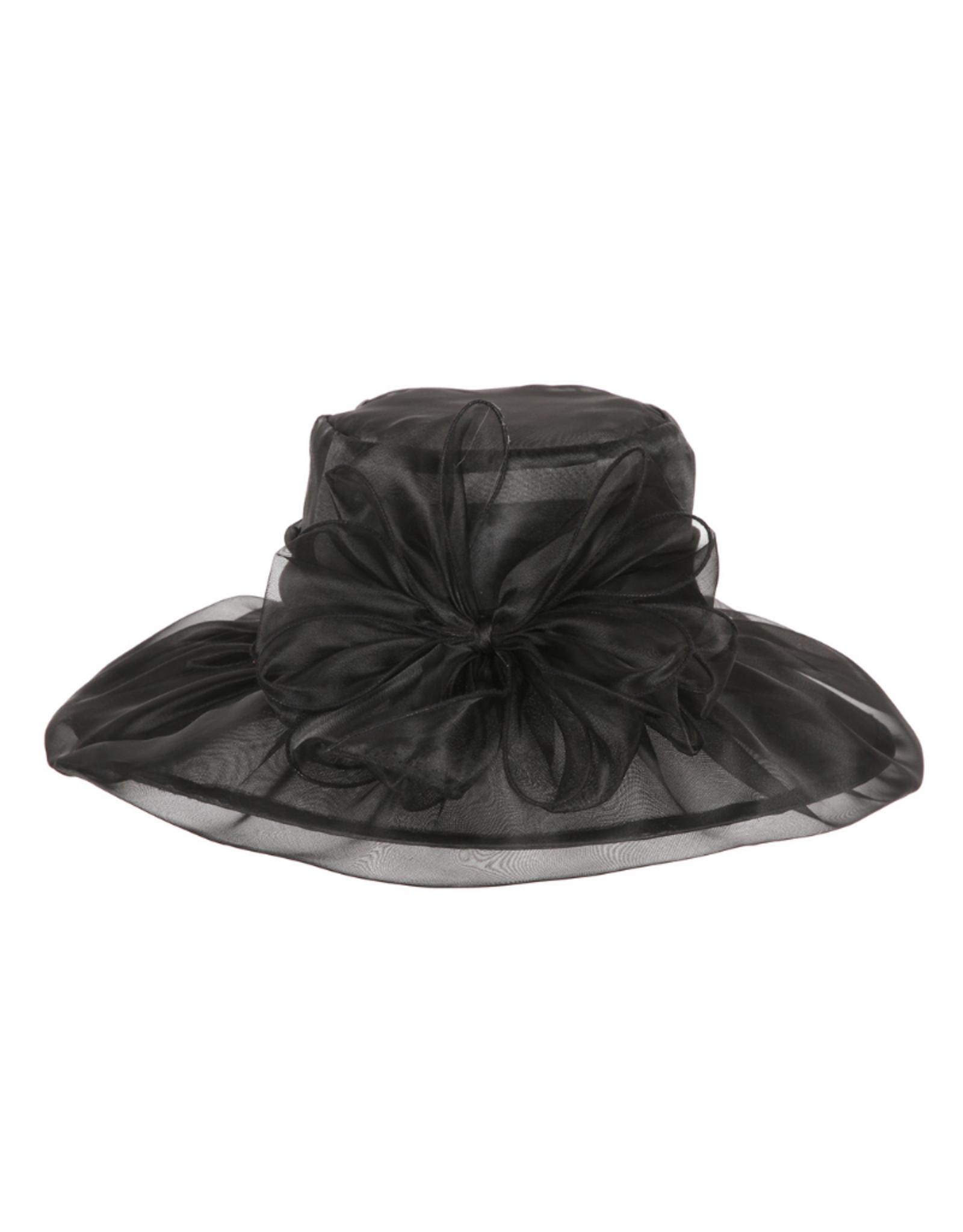 HAT-ORGANZA W/BOW