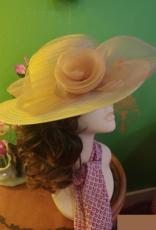 HAT-WOMENS-SO-ORGANZA STRAW