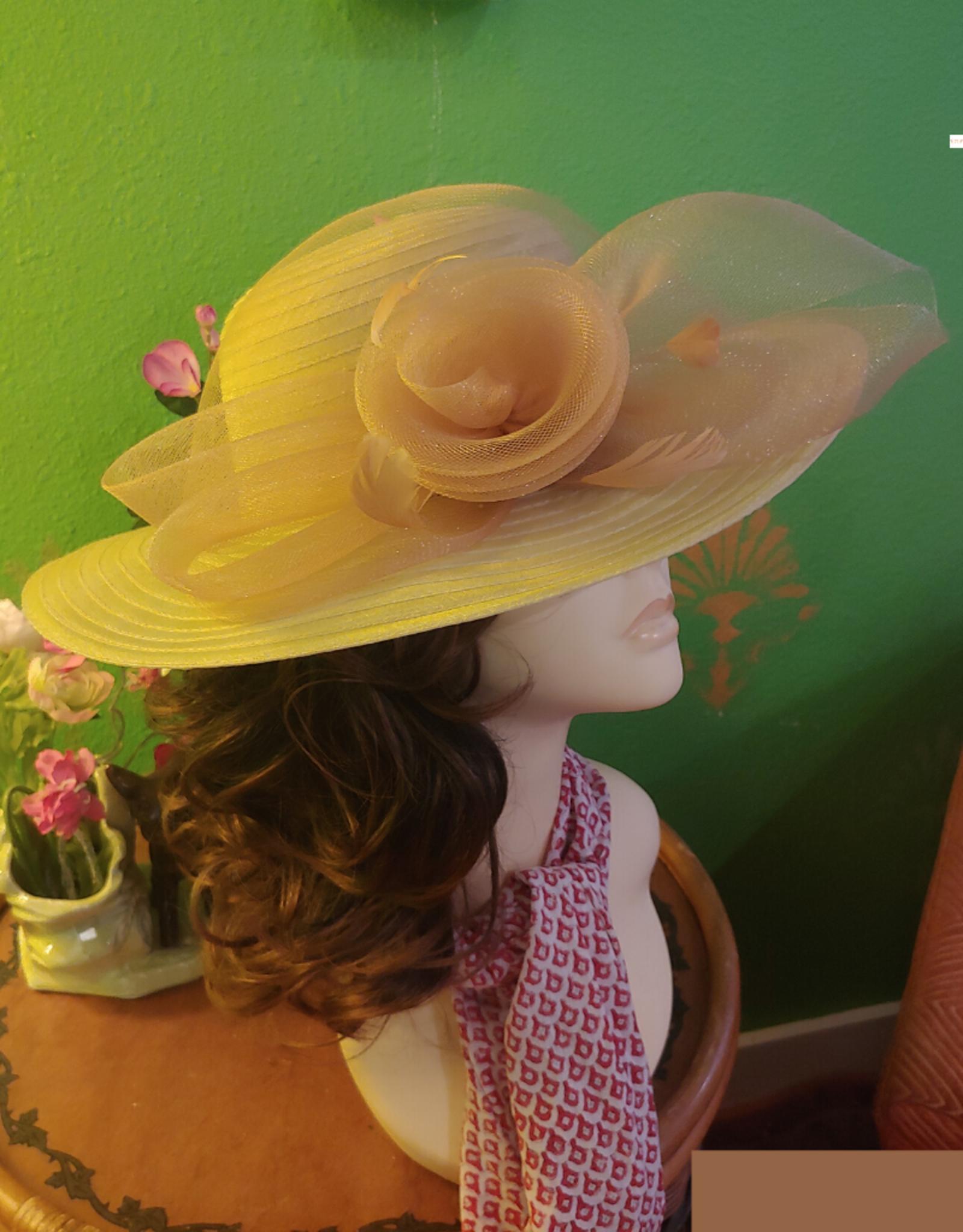 HAT-ORGANZA STRAW