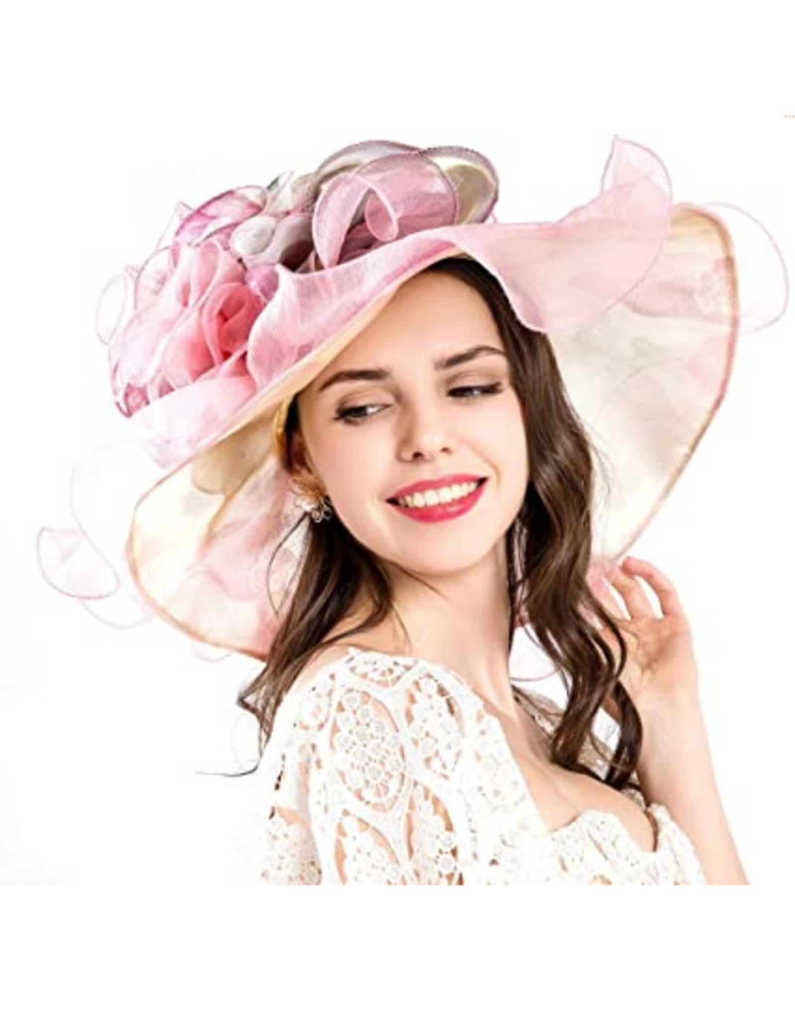 HAT-WOMENS-SO-ORGANZA-FLOWERS