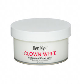 Ben Nye CLOWN WHITE, 8 OZ