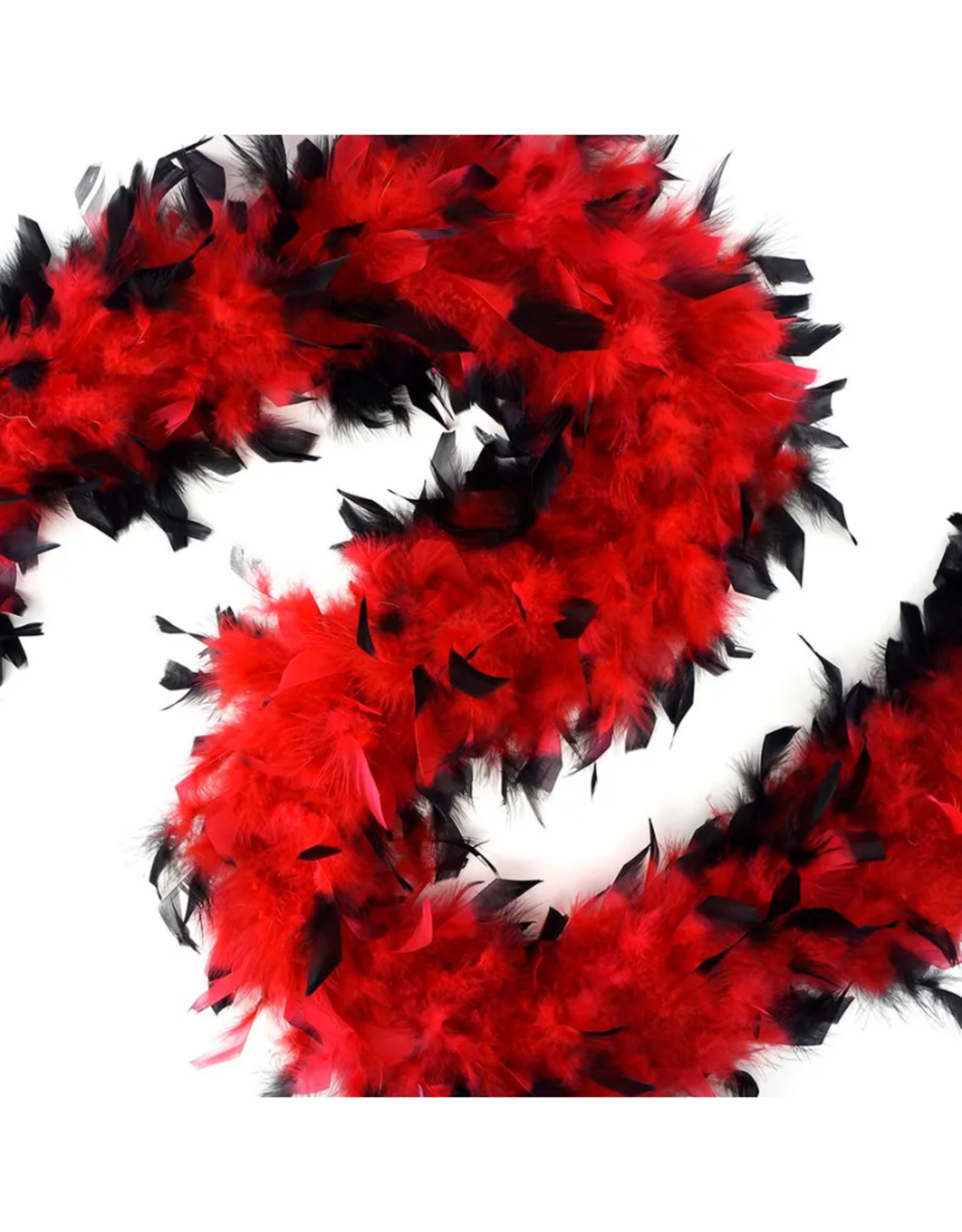 FEATHER BOA-CHANDELLE-TIPPED MED, ASST