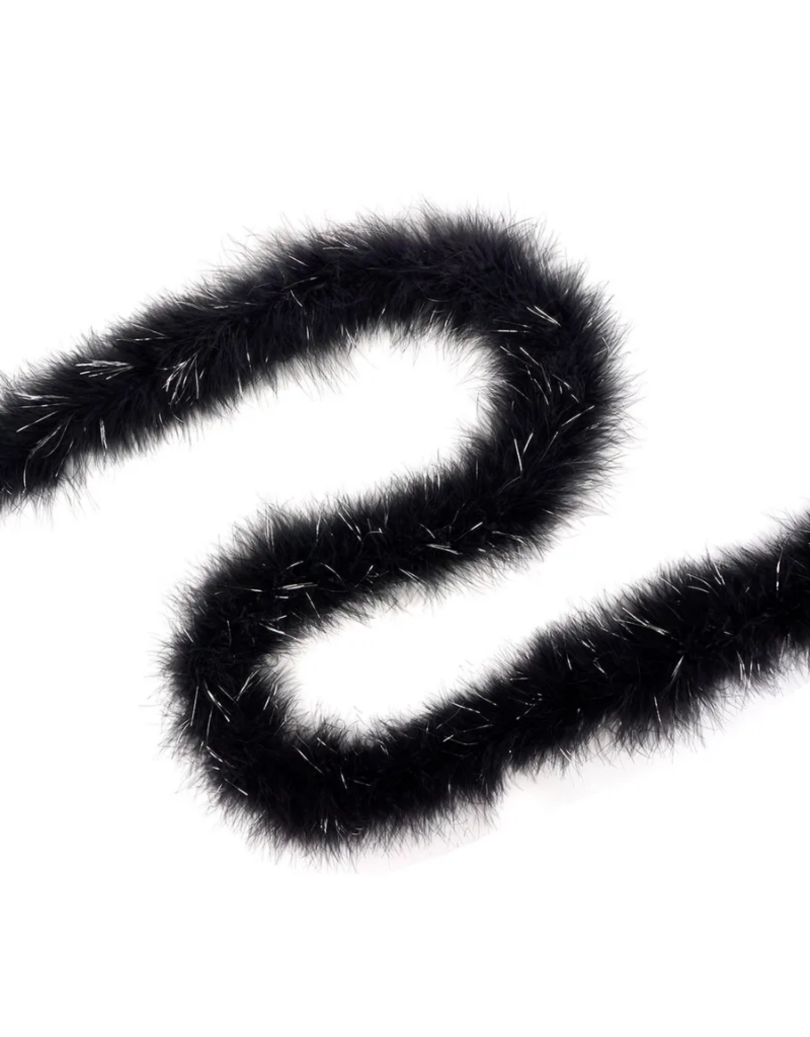 FEATHER BOA-MARABOU-LUREX HVY, ASST