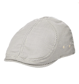 HAT-IVY CAP-GINGHAM STYLE