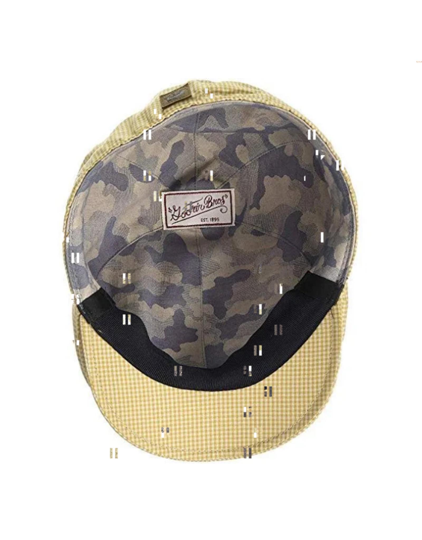 HAT-IVY CAP-GINGHAM STYLE