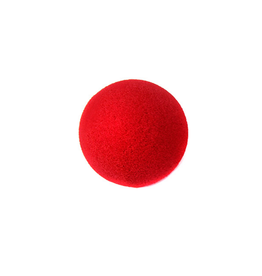 Ben Nye FOAM NOSE, RED, 2""