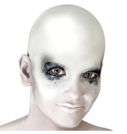 BALD CAP-WHITE, LATEX