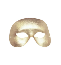 MASK-COCKTAIL HALF MASK, GOLD